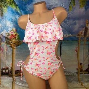 🆕Ⓜ️ U.S. Polo Assn. one-piece flounce swimsuit